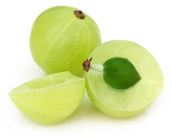Amla rich in vitamin c