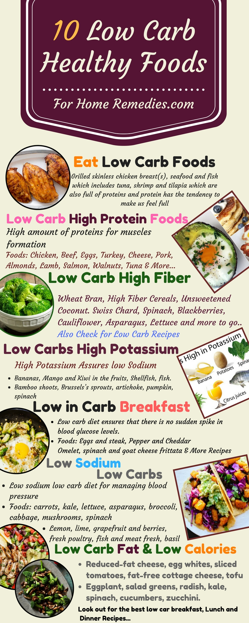10 low carb foods low fat sugar high protein fiber potassium foods take home message low carb healthy foods and recipes forumfinder Image collections