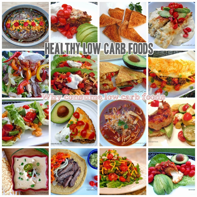 Healthy low carb foods high in protein fiber potassium