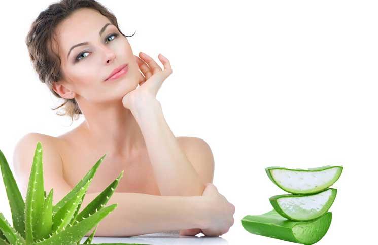 alow vera for dry skin
