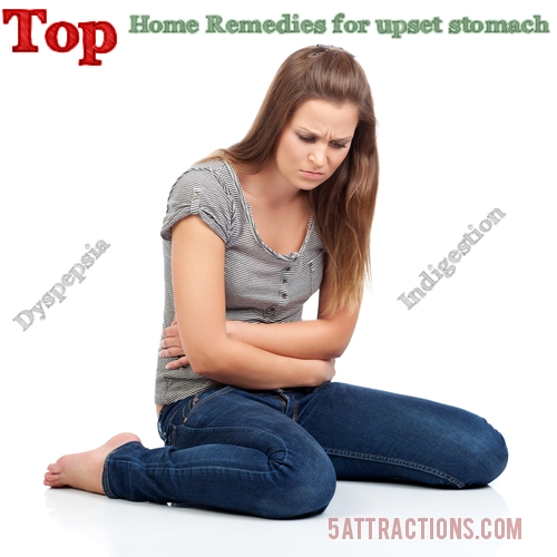 home remedies for upset stomach indigestion
