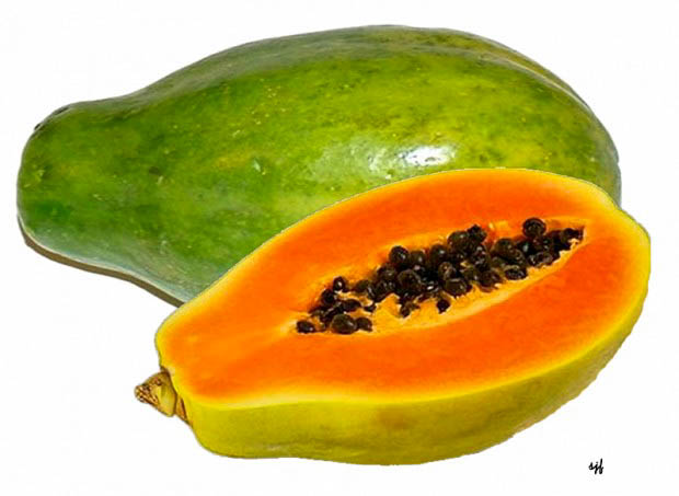papaya for vitamin c foods