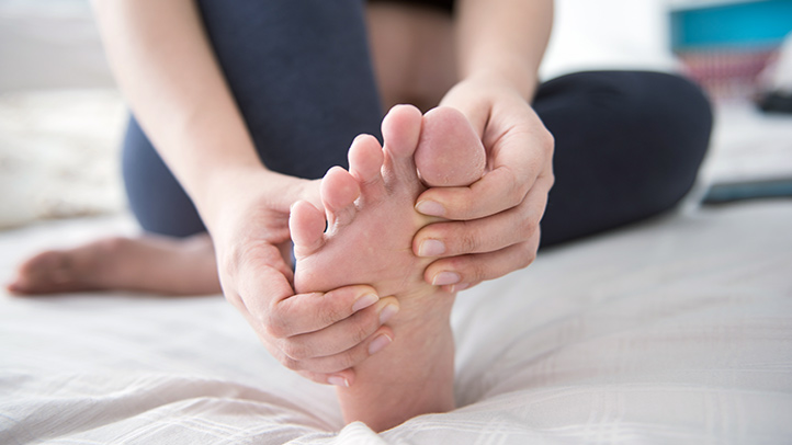 Foot pain sore feet