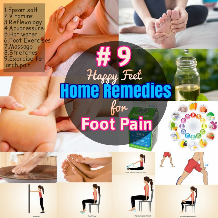 Home Remedies for Foot pain sore feet