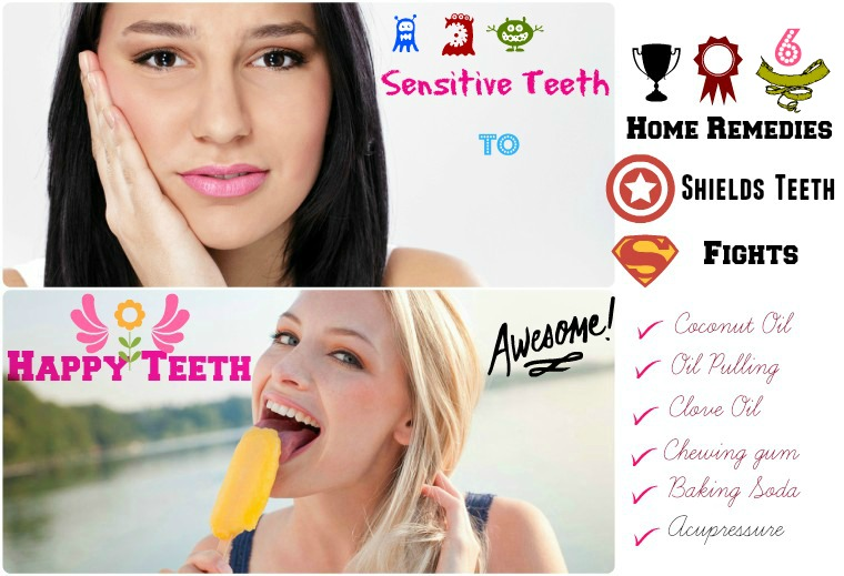 Home remedies for sensitive teeth - How to get rid of sensitive teeth