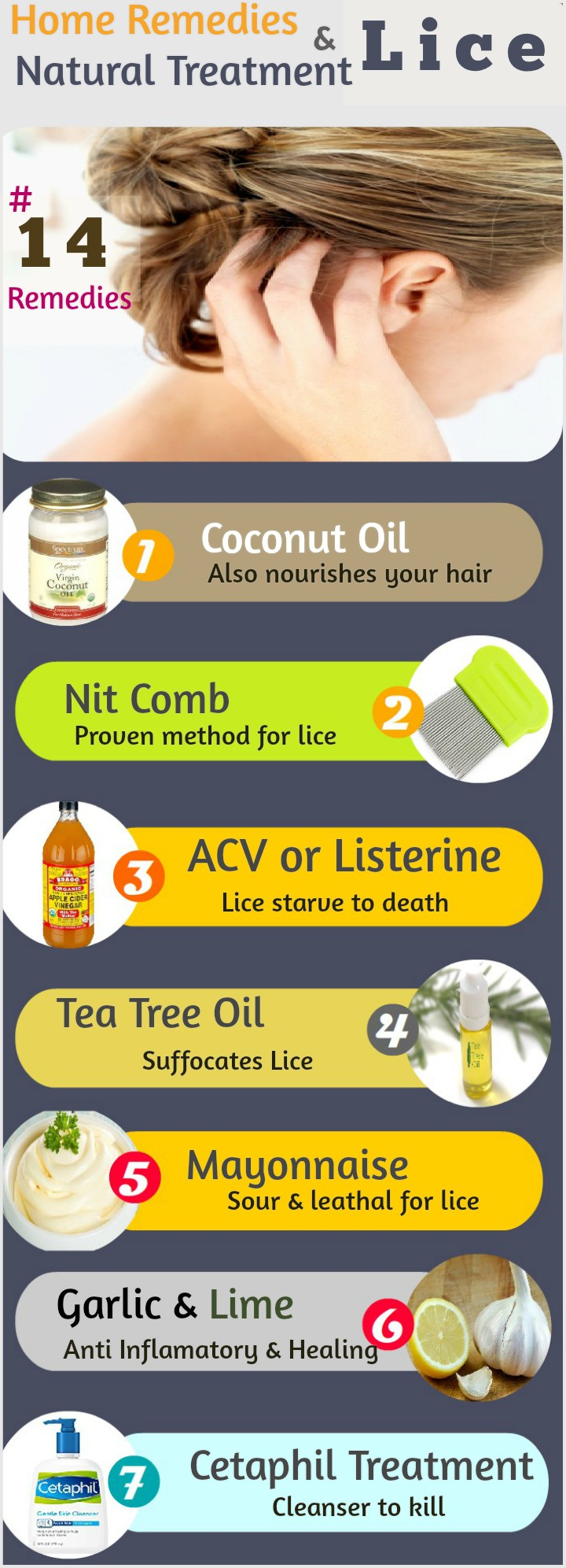How To Get Rid Of Lice 14 Home Remedies And Natural Lice Treatment