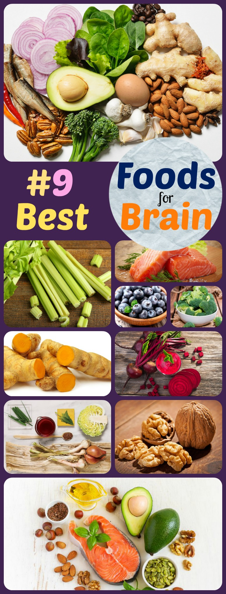 Best foods - Brain boosting foods to eat