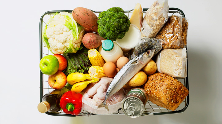 Healthy best foods for diabetes vegetables, fruits, legumes, fish, whole grain carbohydrates