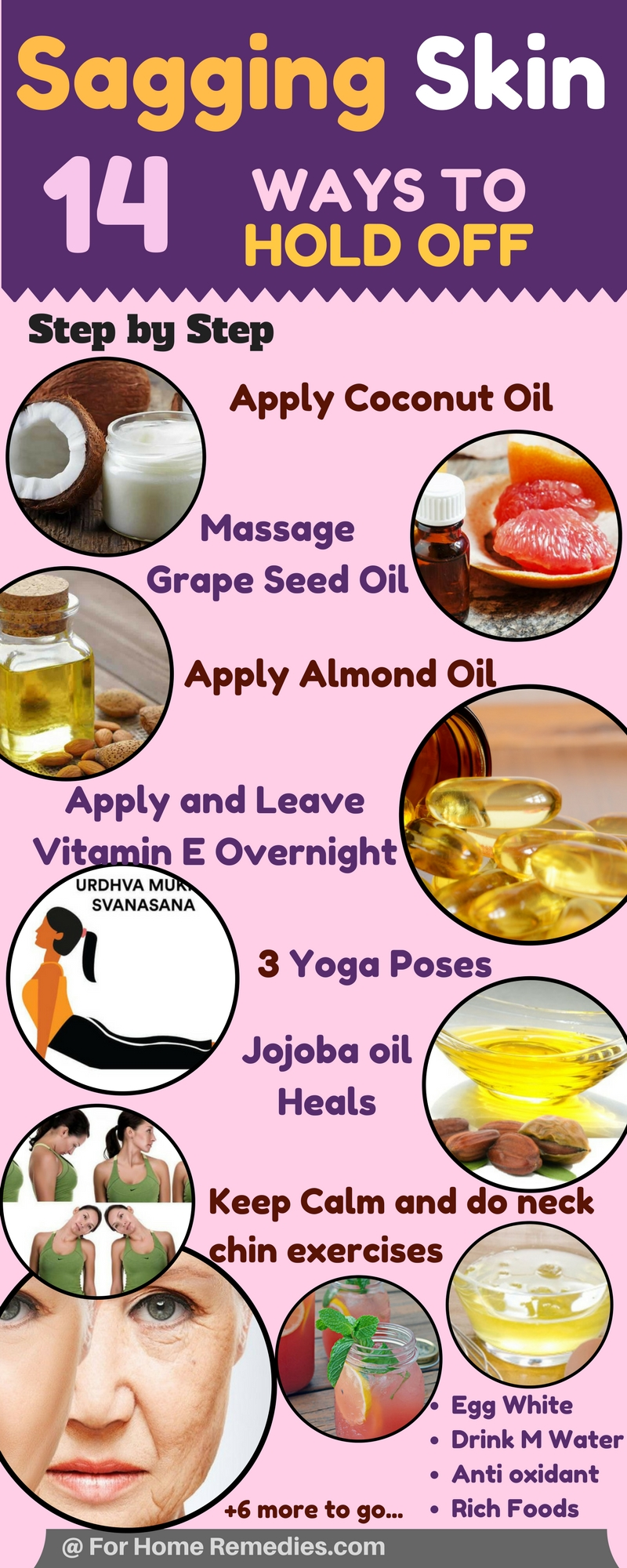 Hold Off My Aging Skin: Home Remedies 14 Ways to Delay Sagging Skin
