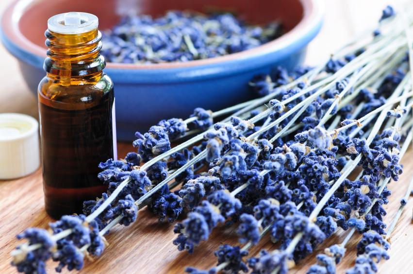 Lavender essential oil for under eye bags healing