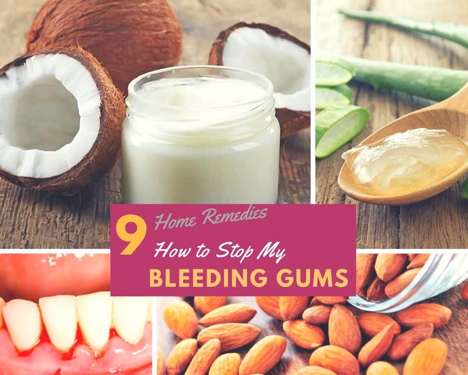 How Can I Stop Bleeding Gums Home Remedies To Heal Gum Disease - Home remedies stop bleeding