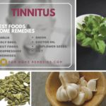 Best foods and Home Remedies for Tinnitus