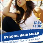 Gram Flour for Healthy Hair and Dandruff Free Scalp