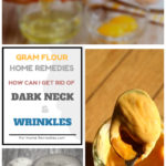 Gram Flour for Glowing Skin from Wrinkles and Dark Neck