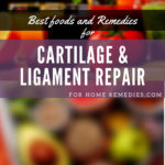 6 Best Foods and Home Remedies Cartilage & Ligament Repair