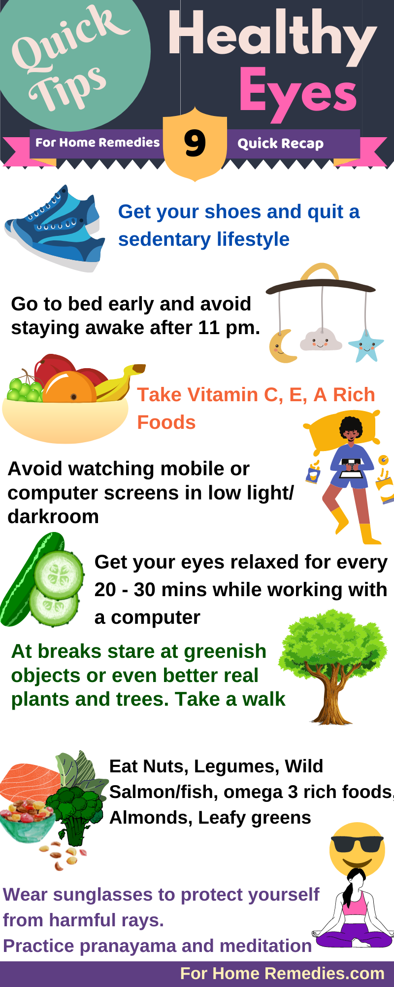 Best Foods & 14 Quick Ideas for Healthy Eyes