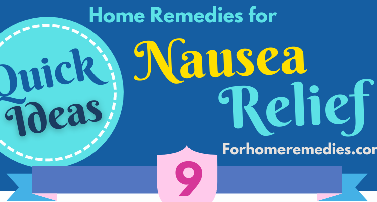 How to Get Rid of Nausea Foods and Natural Home Remedies for Nausea Relief