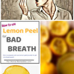 Lemon Peel for Bad Breath