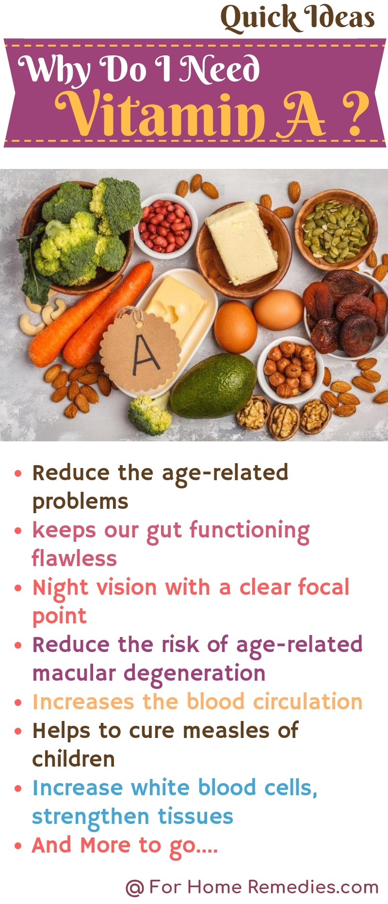 Health Benefits of Vitamin A why do You Vitamin A